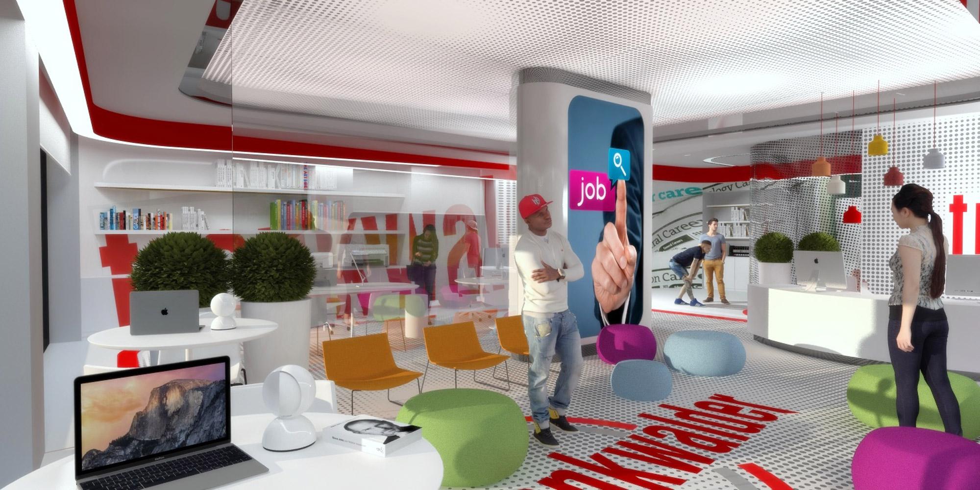 Marco bonfigli architetto e interior designer a santo for Interior design ufficio